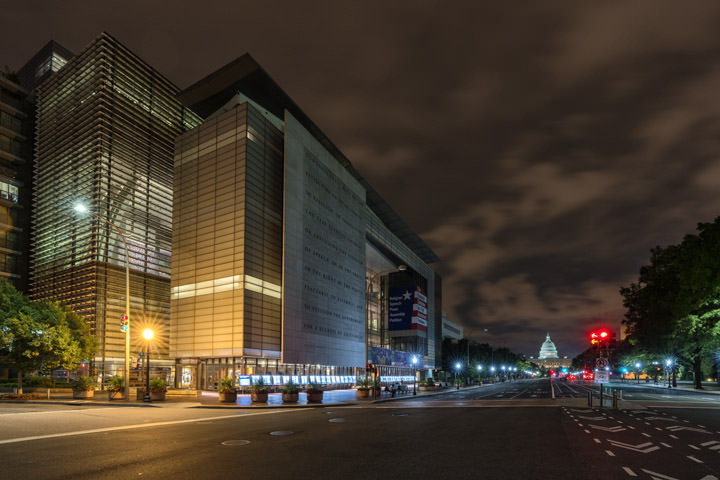 Photograph of Newseum Building