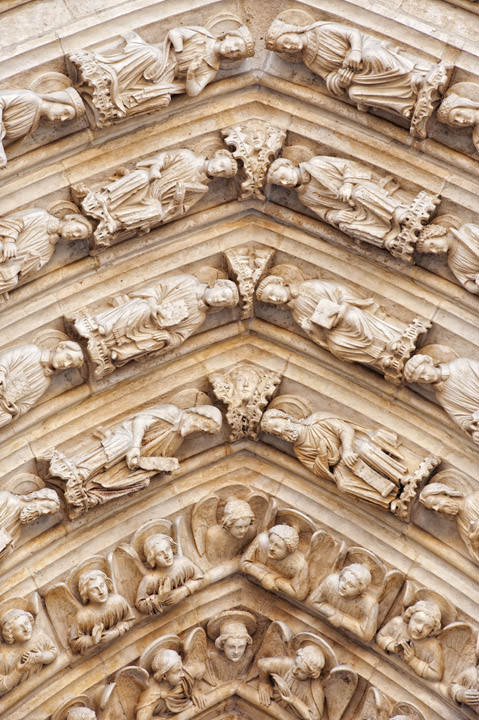 Photograph of Notre Dame Detail 1
