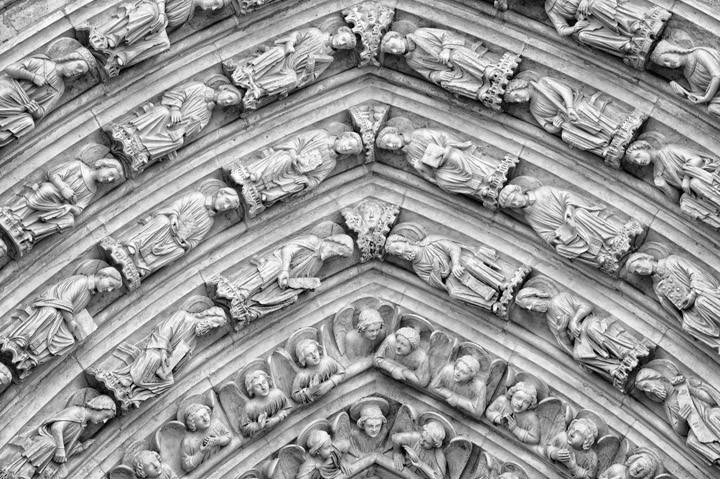 Photograph of Notre Dame Detail 4