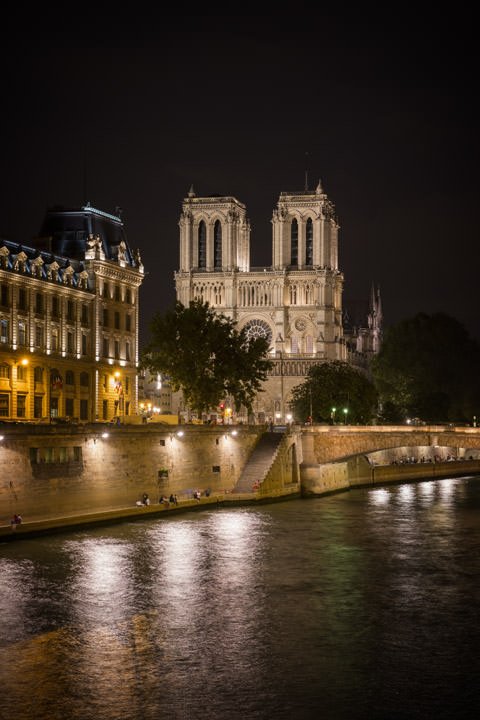 Photograph of Notre Dame Paris 1