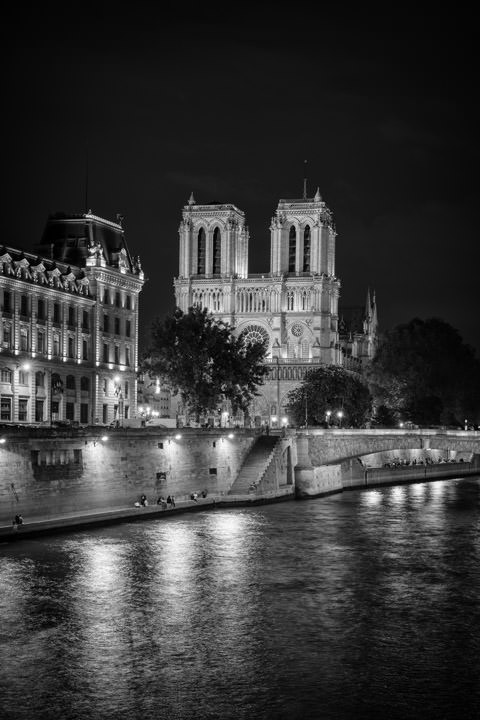 Photograph of Notre Dame Paris 2