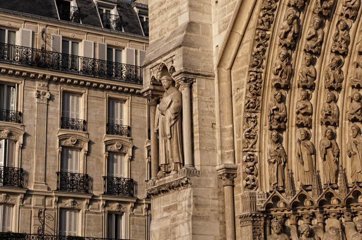 Photograph of Notre Dame