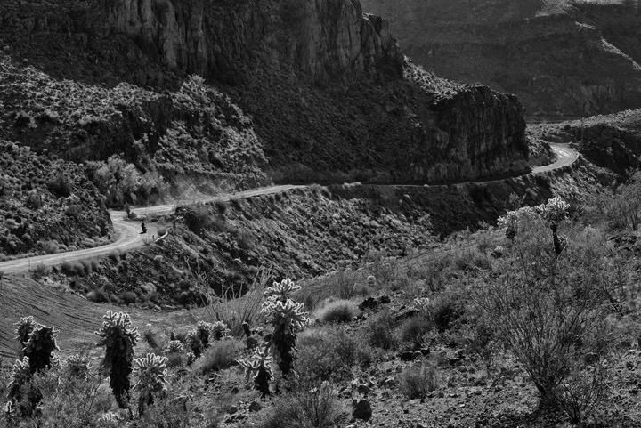 Photograph of Oatman Pass Route 66