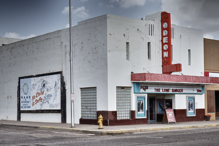 Photograph of Odeon Tucumcari