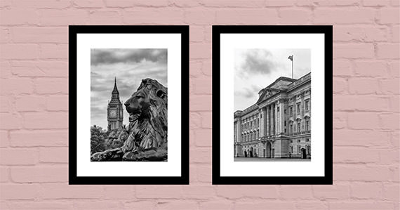 Office art ideas London Black and White