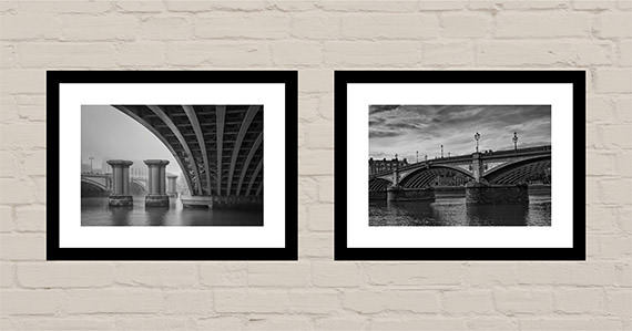 Office art ideas Thames Bridges