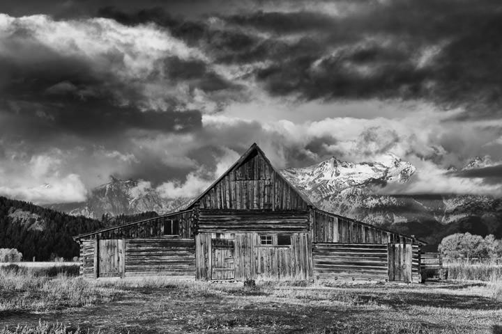 Old Barn - Mormon Row Wyoming