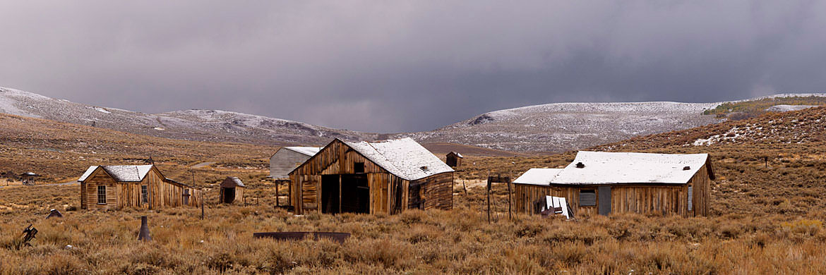 Old Barns Bodie - California