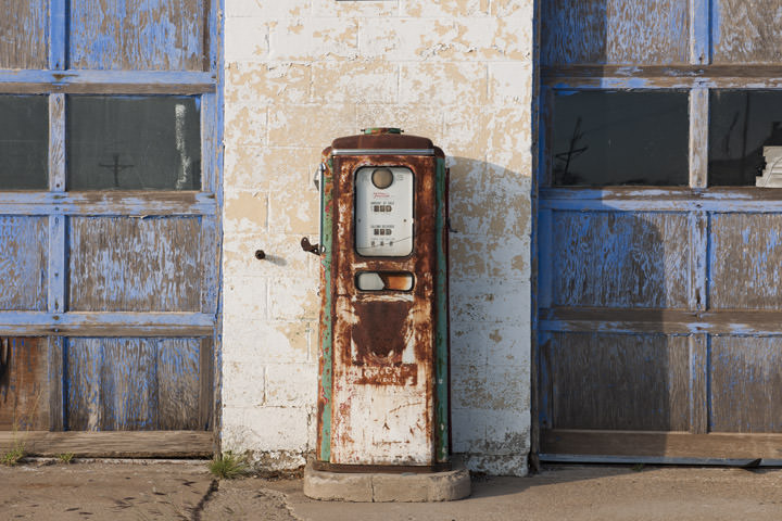 Old Gas Pump -  Route 66 Texas