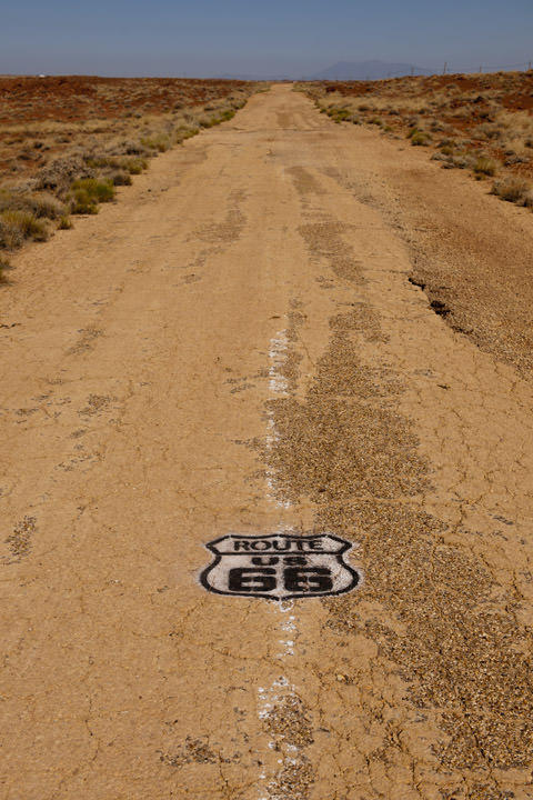 Photograph of Old Route 66