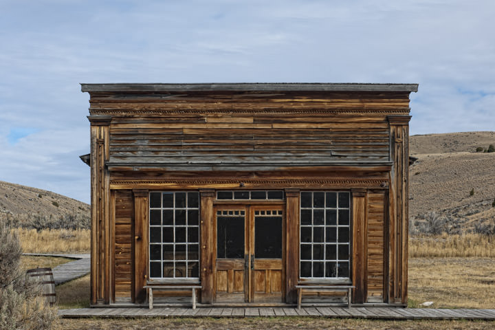 Old Shop - Bannack Montana