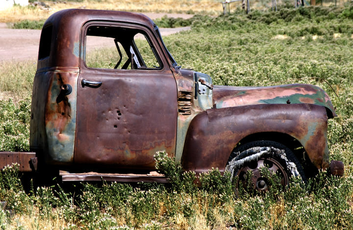 Old Truck -  Route 66 New Mexico