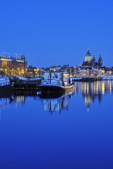 Photograph of Oosterdok at Dawn 2