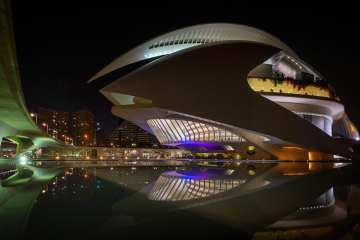 Photograph of Opera House 1 Valencia