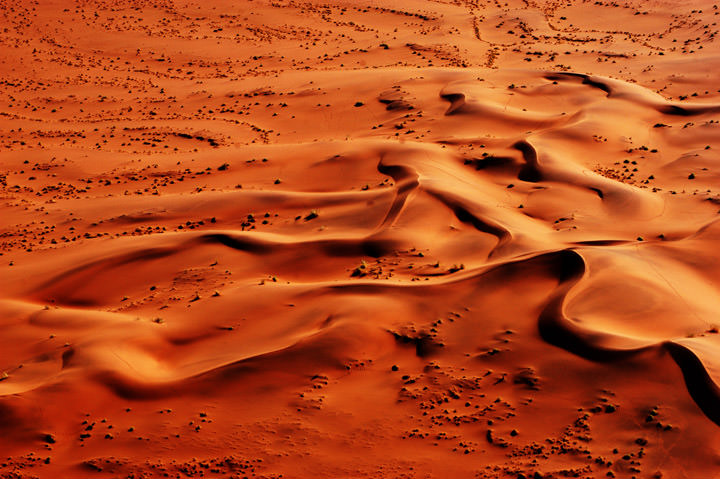 Photograph of Orange Dunes