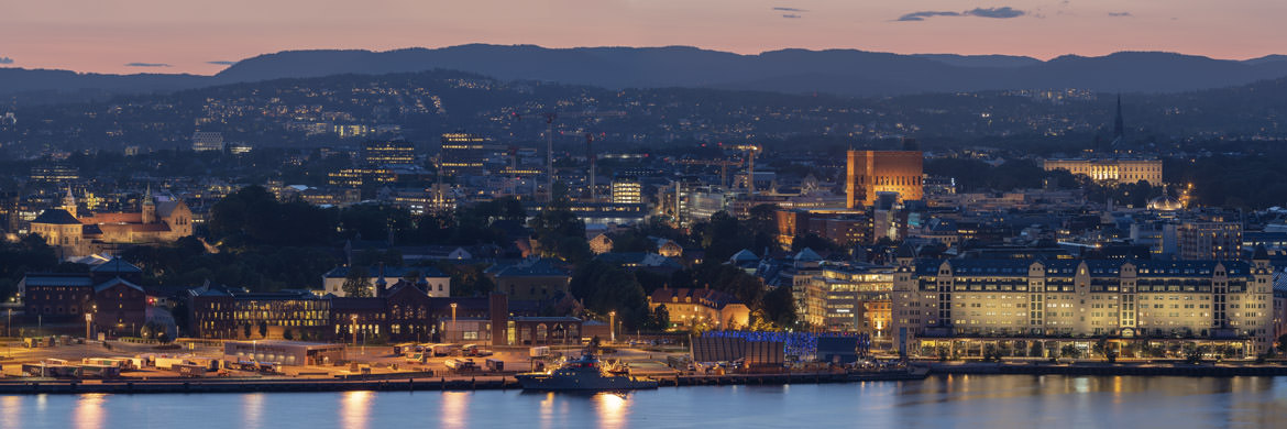 Photograph of Oslo Panorama 1