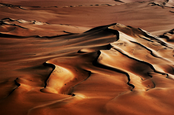Over the dunes Namibia - Africa