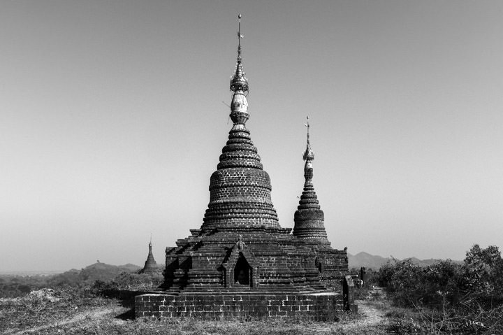 Photograph of Pagodas Mrauk U 1