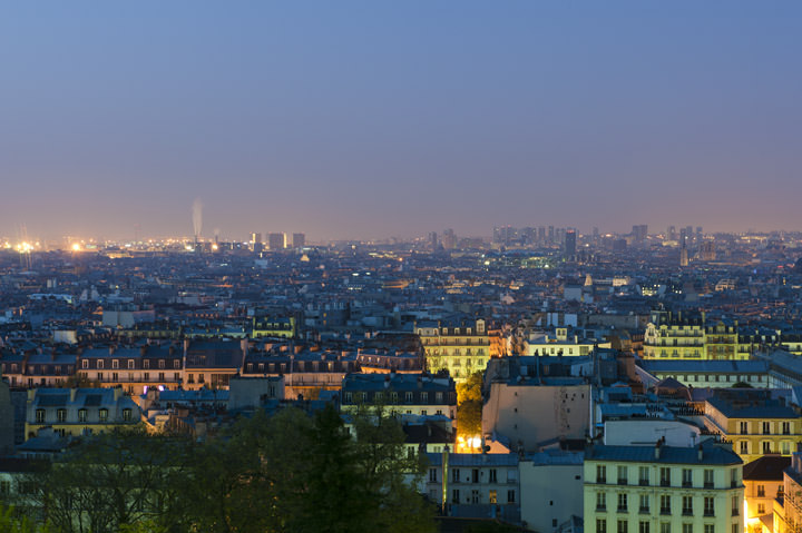 Photograph of Paris Cityscape 1