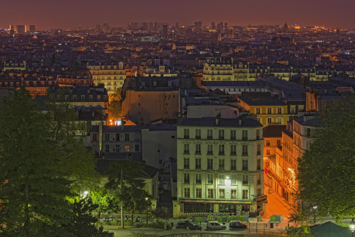Photograph of Paris Cityscape 2