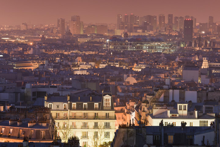 Photograph of Paris Cityscape 3