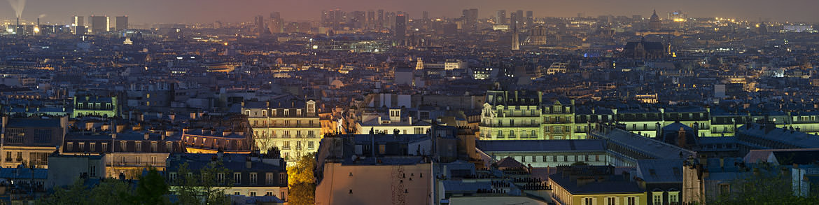 Photograph of Paris Cityscape 4