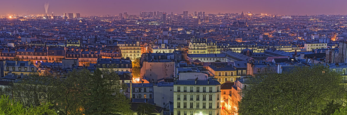 Photograph of Paris Cityscape 5