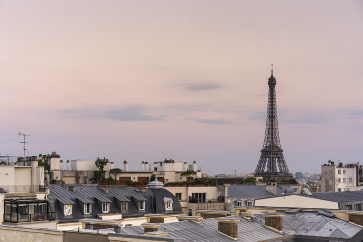 Photograph of Paris Rooftops 2