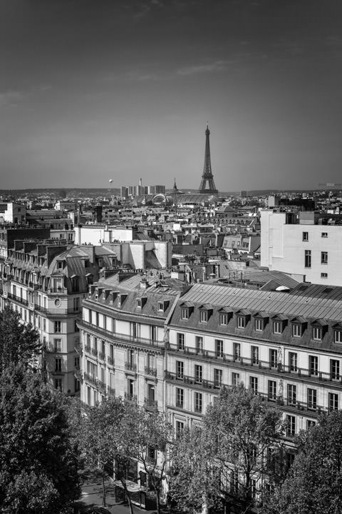 Photograph of Paris Rooftops 3