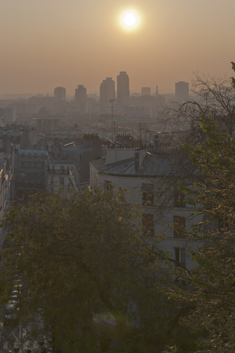 Photograph of Paris Sunrise