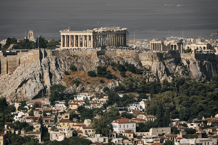 Photograph of Parthenon Skyline 1