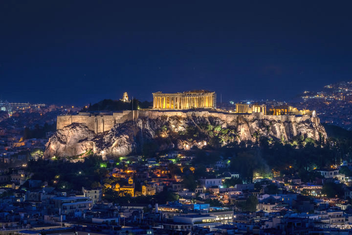 Parthenon Skyline 2