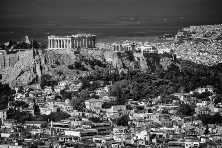 Photograph of Parthenon Skyline 3