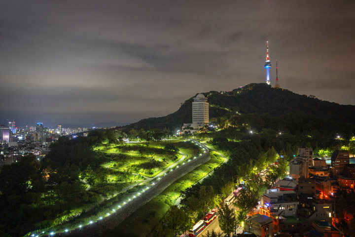 Path to Namsam Tower