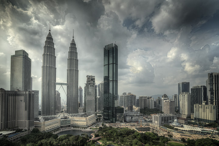 Photograph of Petronas Towers KL 1