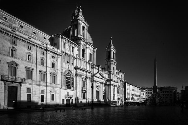 Photograph of Piazza navona Rome