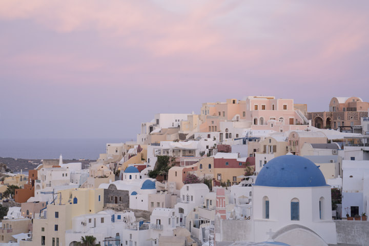 Photograph of Pink Santorini