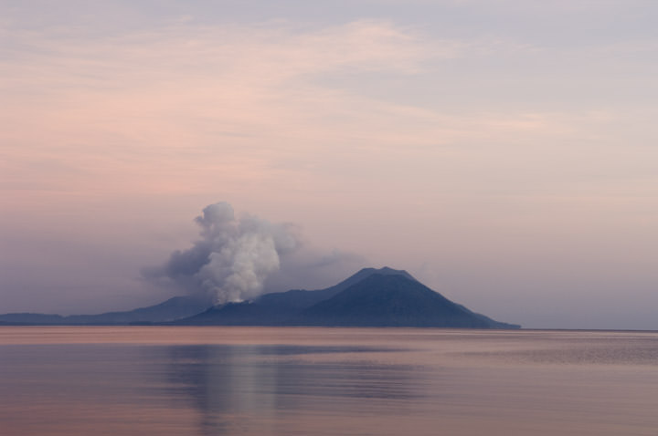 Photograph of Pink Volcano