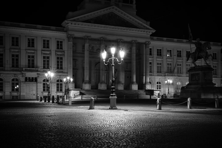 Photograph of Place Royal Brussels