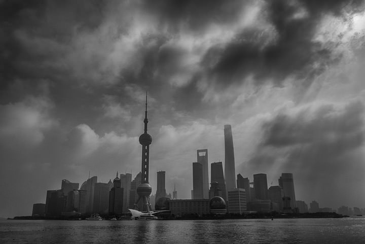 Photograph of Pudong Skyline 2