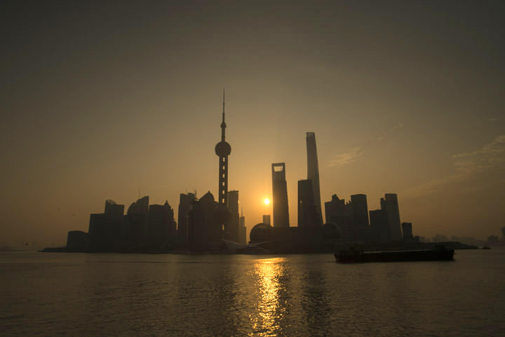 Photograph of Pudong Skyline 3