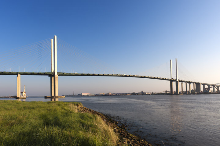 Photograph of Queen Elizabeth II Bridge 2