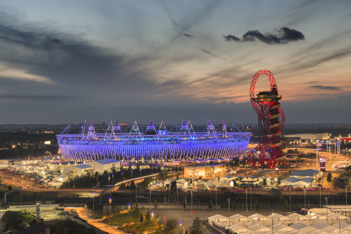 Photograph of Queen Elizabeth II Olympic Stadium 1