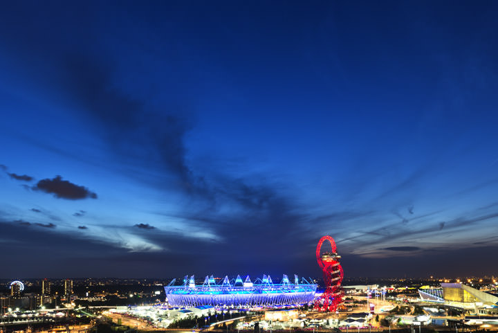 Photograph of Queen Elizabeth II Olympic Stadium 2