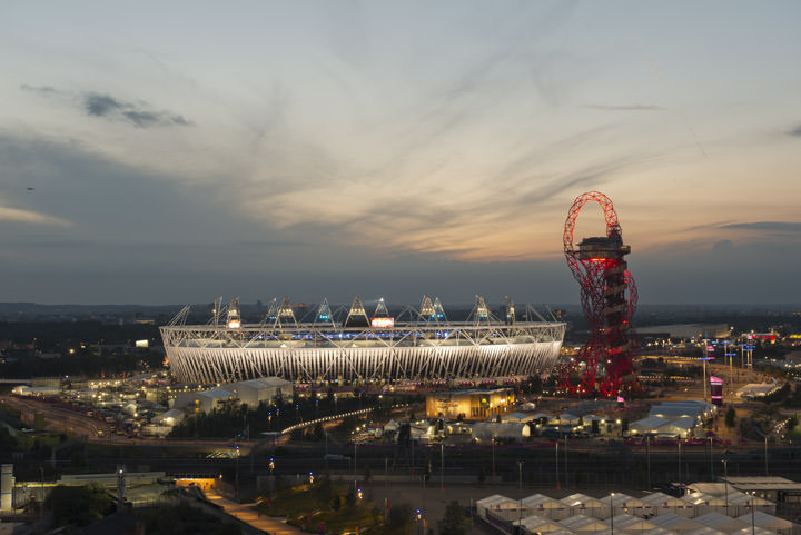 Photograph of Queen Elizabeth II Olympic Stadium 4