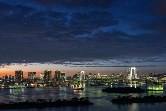 Photograph of Rainbow Bridge Skyline 4