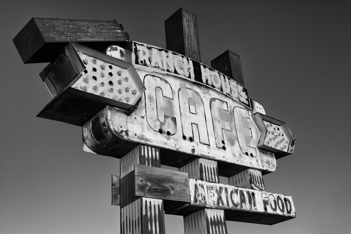 Ranch House Cafe -  Route 66 Tucumcari - New Mexico