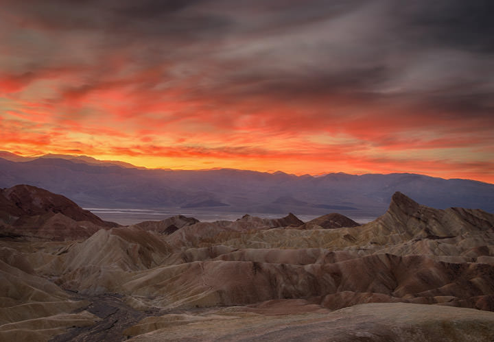 Red Skies Over Death Valley