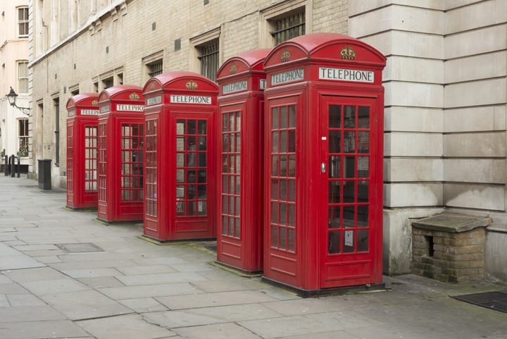 Red Telephone Boxes 1