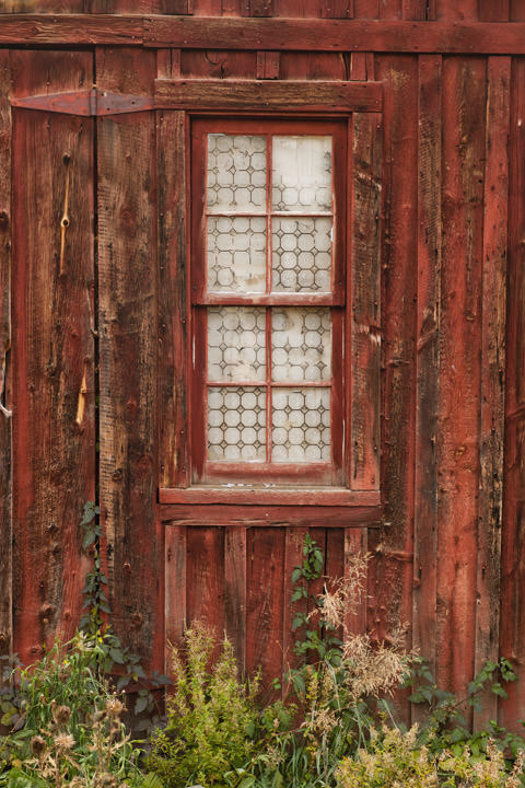 Photograph of Red Window - Virginia City